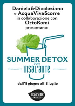 Summer Detox con Insal'Arte
