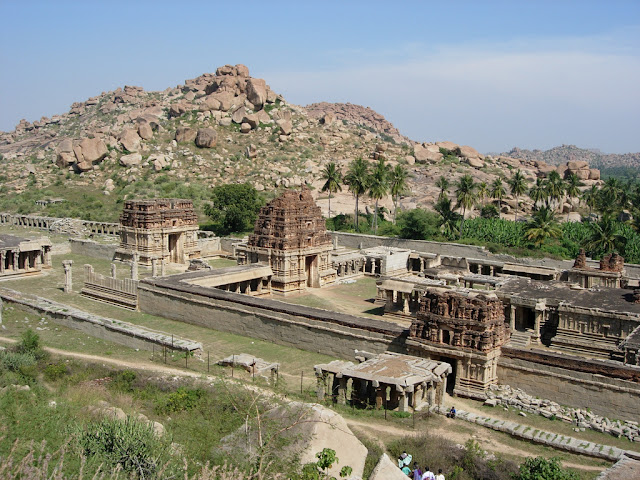 Ancient Achyutaraya temple - Hampi Pick, Pack, Go