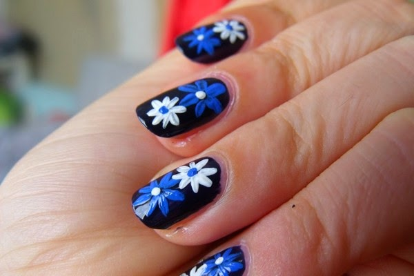 Beautiful And Trendy Nail Art Designs 2014 For Girls