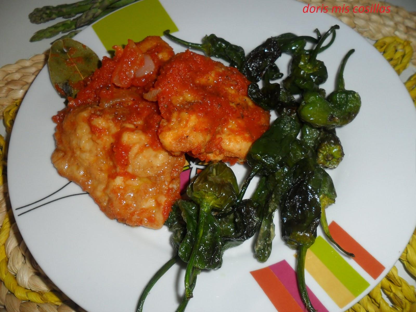 Doris mis cosillas bacalao fresco con tomate esp rragos - Bacalao fresco con tomate ...