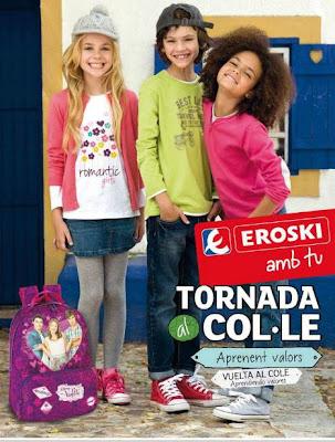 eroski vuelta al cole moda de niños 2013