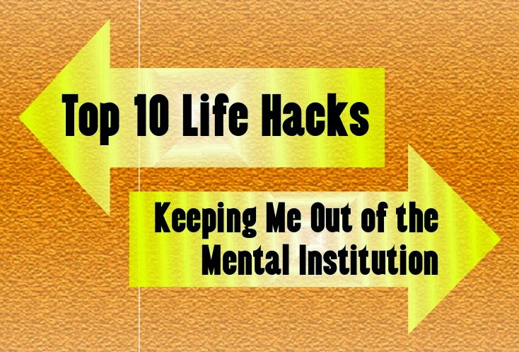 Top 10 Life Hacks Keeping Me Out of the Mental Institution -- Really, these 10 life hacks are the only reason my 5 kids and I are still alive.  {posted @ Unremarkable Files}