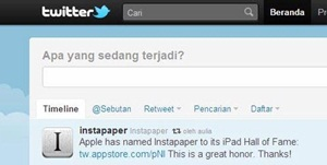 Setting Bahasa Indonesia Sudah Ada Di Twitter | Khamardos Blog