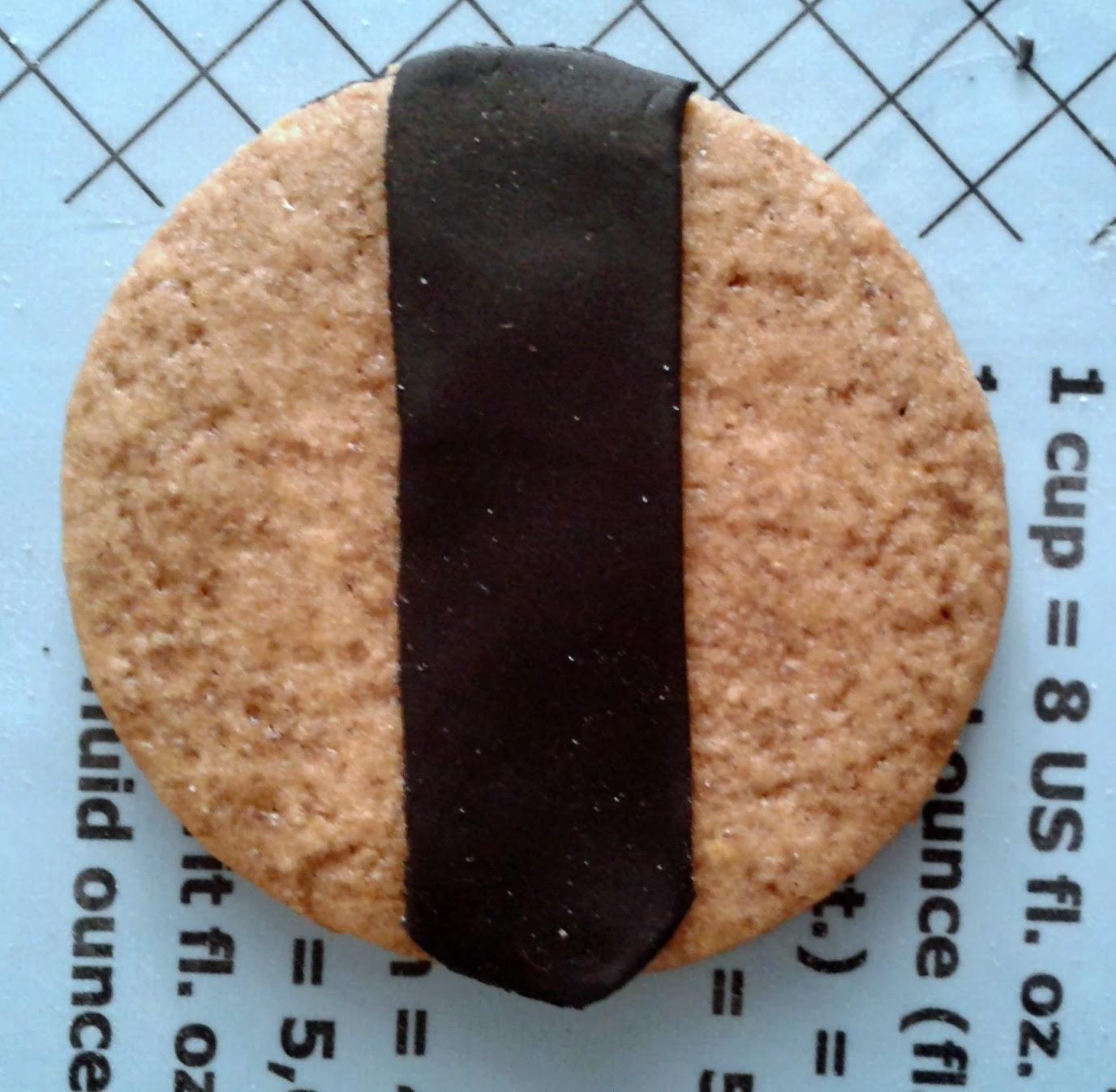 tutorial biscotti portafortuna 2: coccinelle