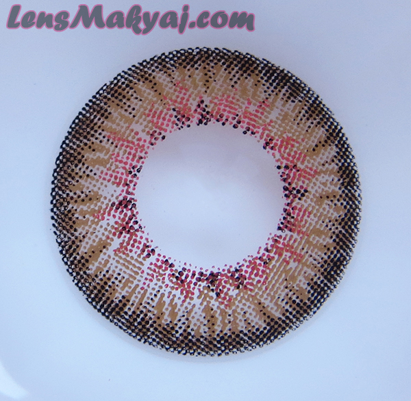 Dueba Puffy 3 Tone Brown