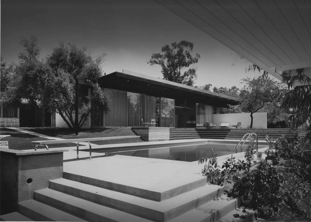 White Floors Joseph Eichler American Mid Century Modern Homes