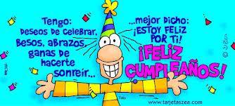 Frases Para Cumpleaños: Tengo Deseos De Celebrar