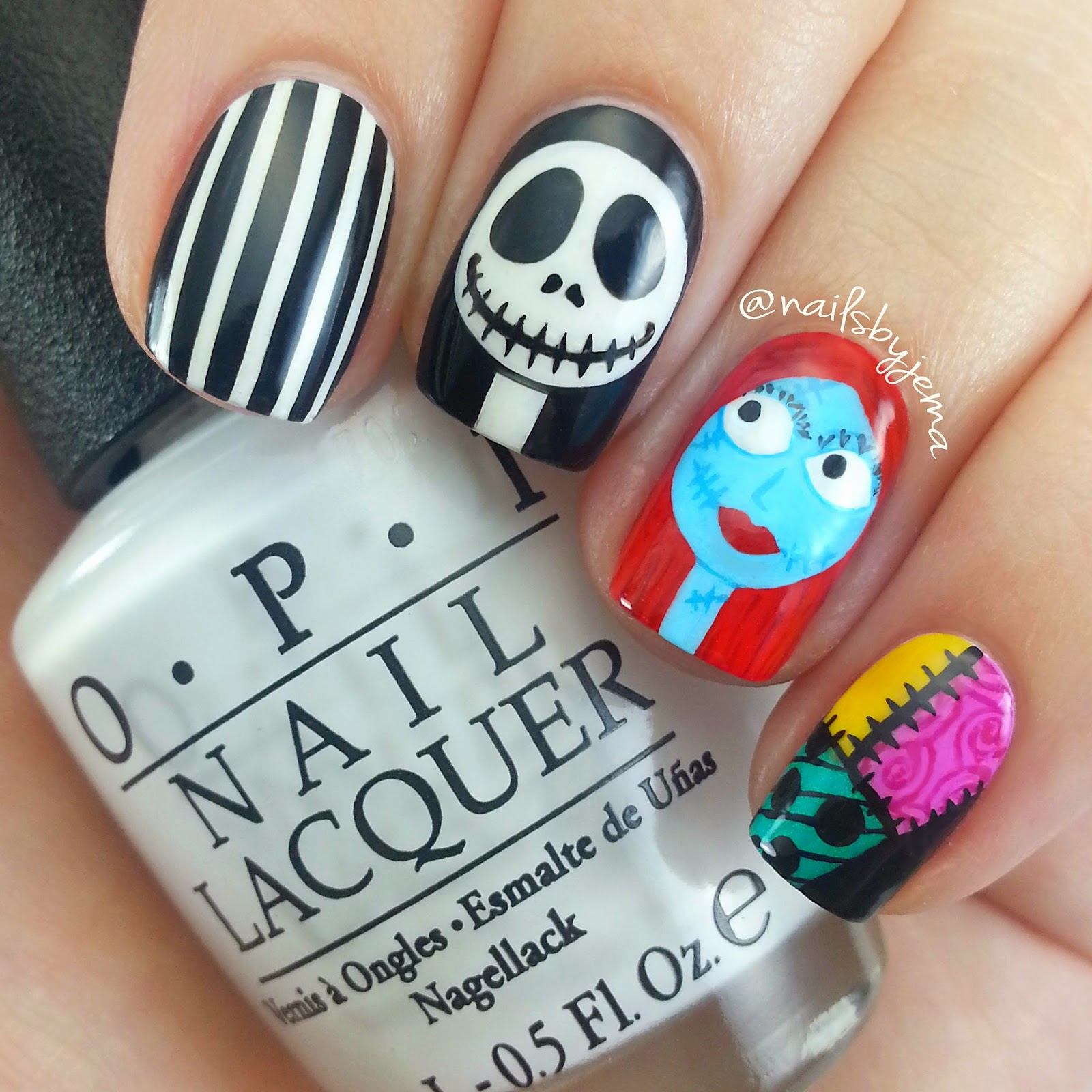 i dont do too many cartoon nails and i definitely need to practise more sally was way harder then she needed to be