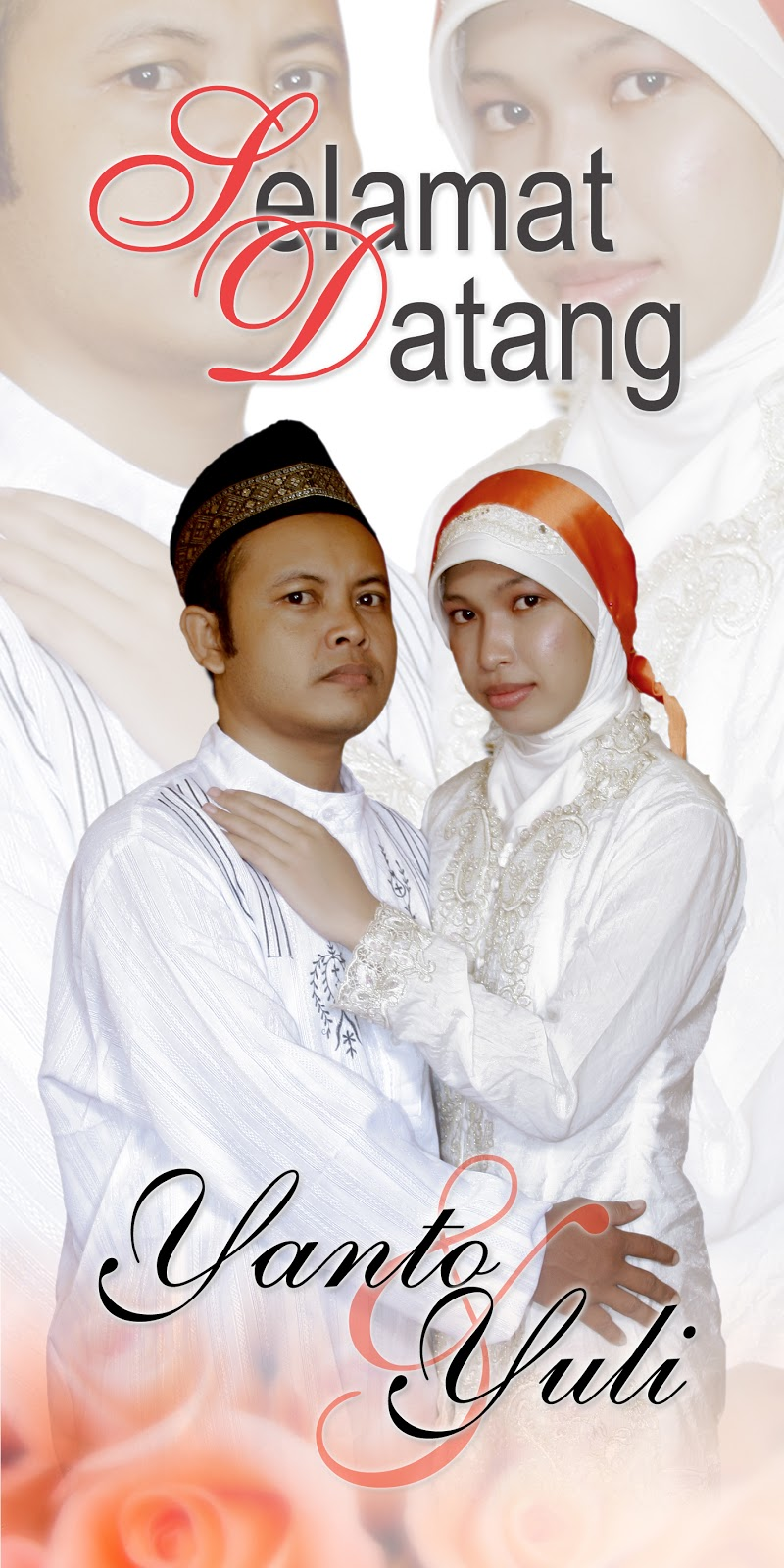 Design x banner pernikahan - Video Project