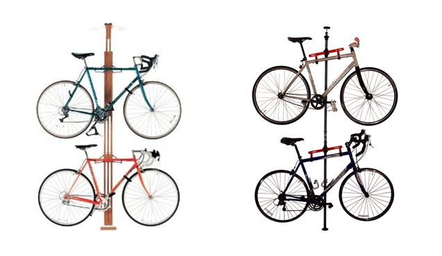Tension-Mount Bike Rack