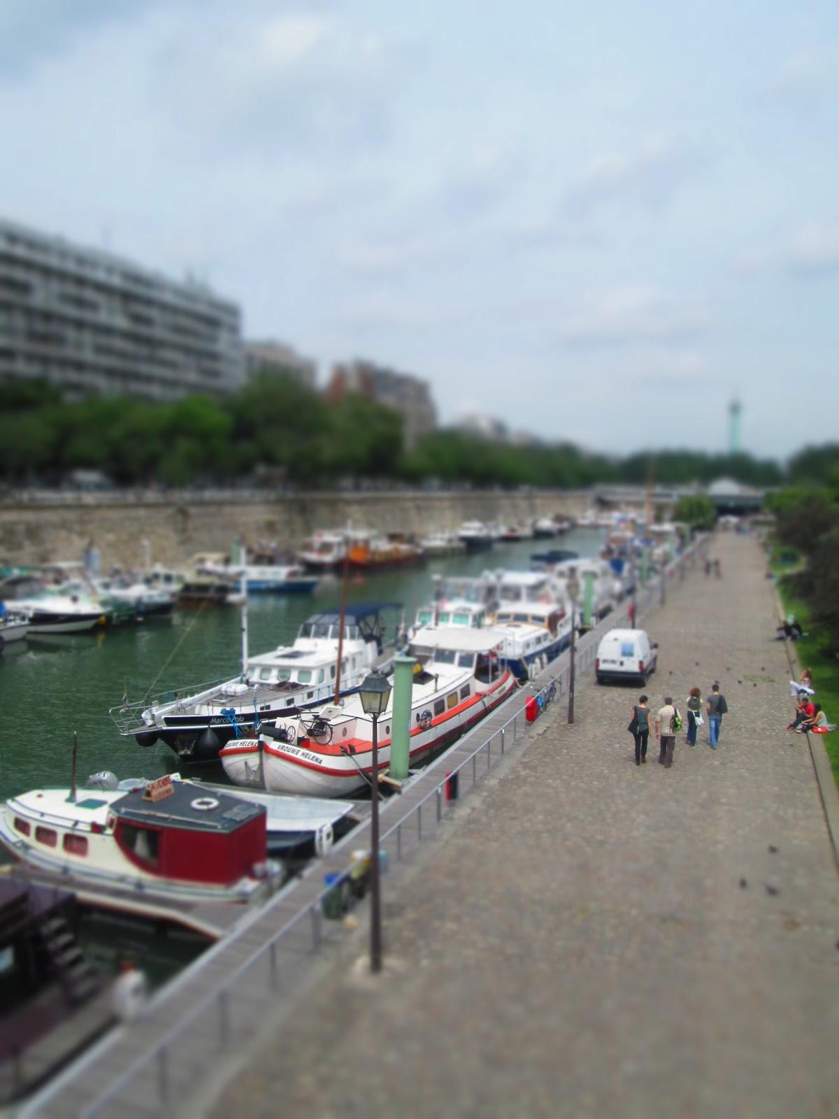 Pardon my french in paris port de l 39 arsenal - Port de l arsenal bastille ...