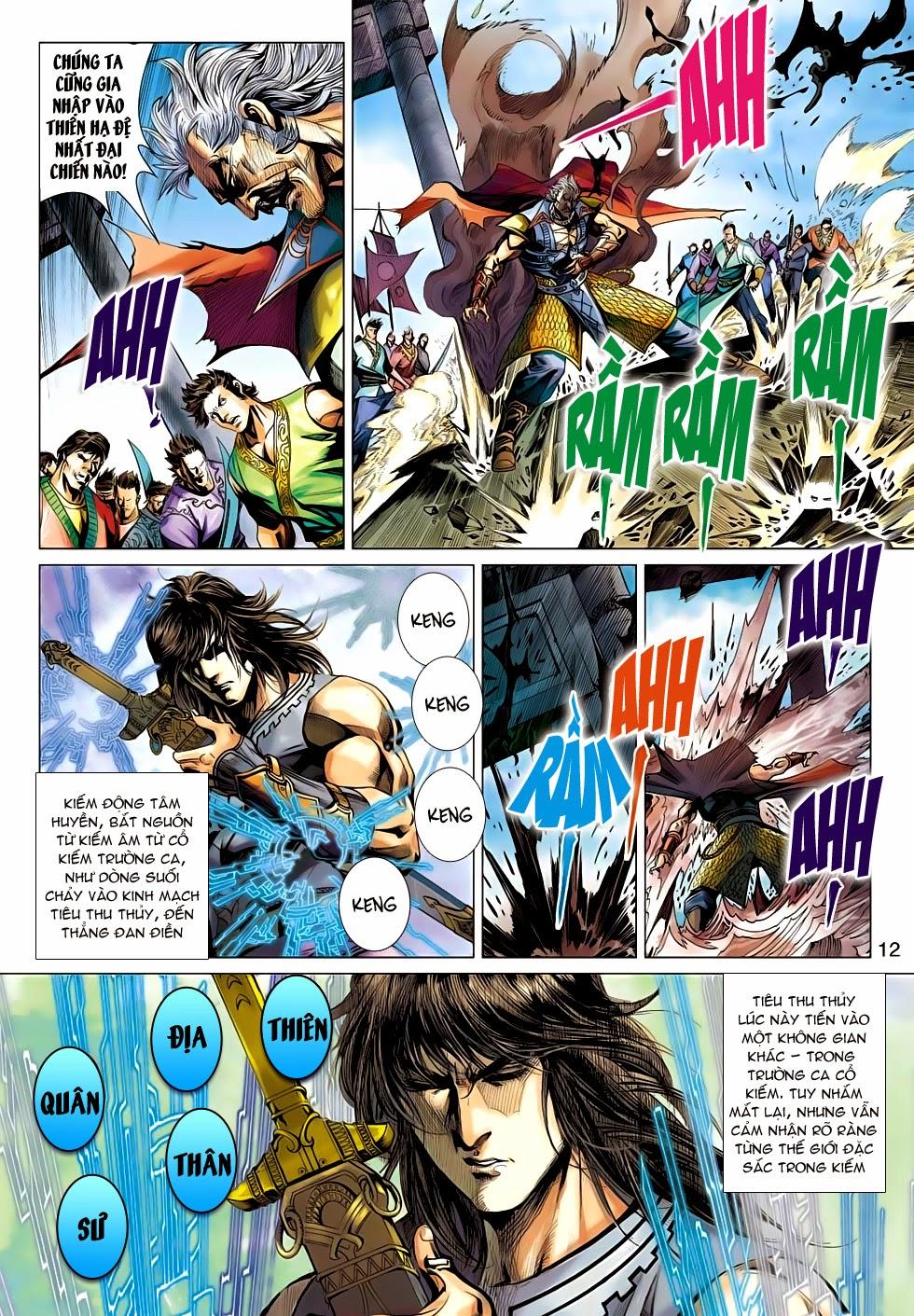 Thần Châu Kỳ Hiệp chap 32 – End Trang 12 - Mangak.info