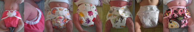 Newborn Cloth Nappy Covers