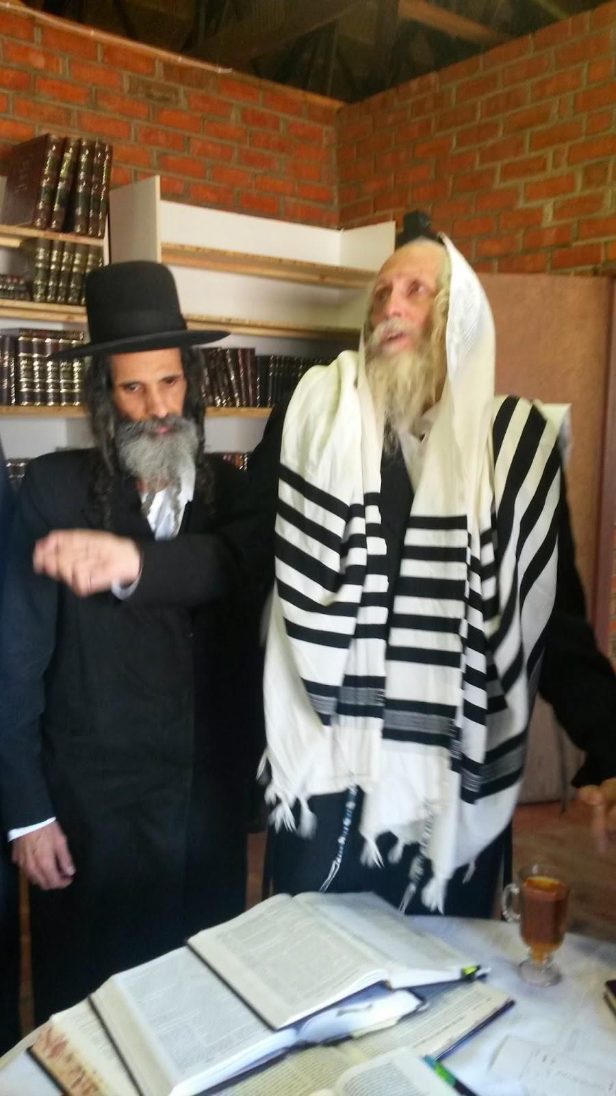 הרב ברלנד עם הרב צנעני