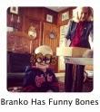 Branko has funny bones