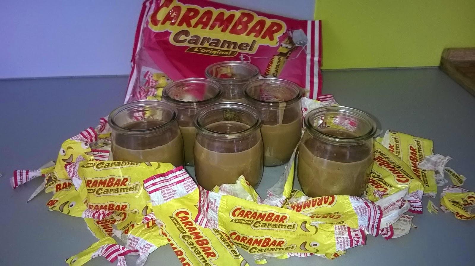 Crème au carambar (thermomix)