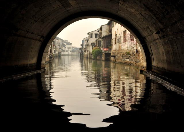 Canal, Shantang Street, Suzhou, China