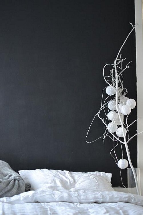 Vosgesparis: A Chalkboard wall in the bedroom