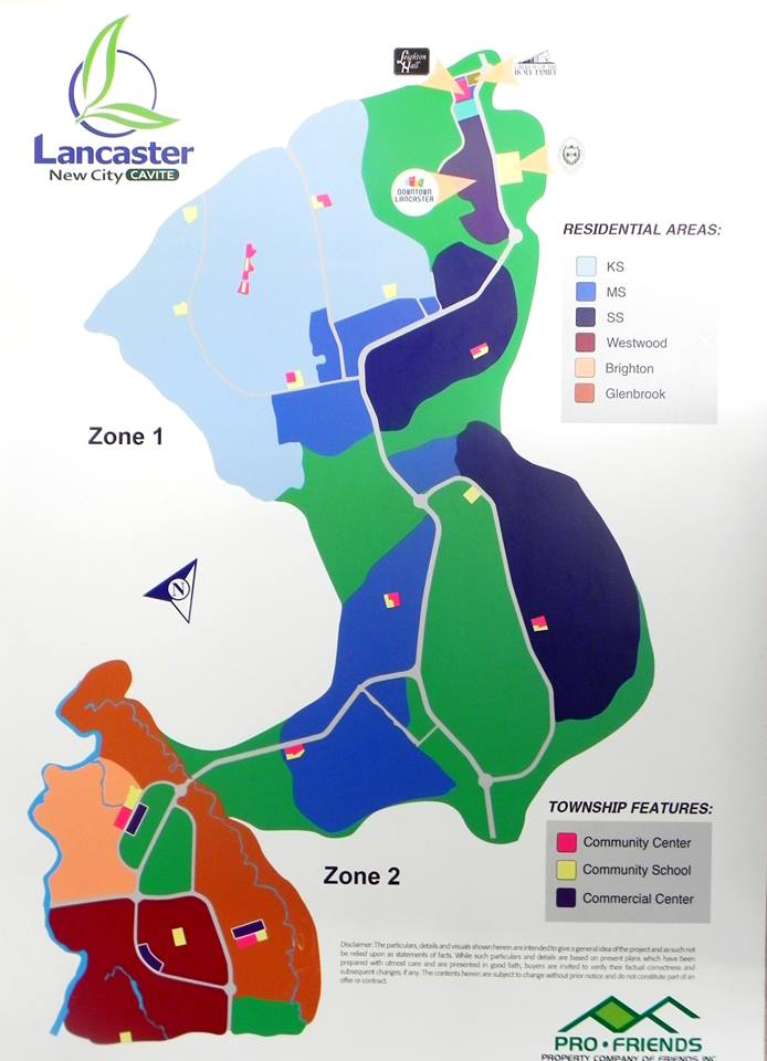 LOCATION MAP Master Plan Buy A Home In Lancaster New City Cavite