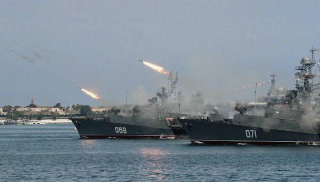 Απίστευτη δύναμη πυρός συγκεντρώνει η Ρωσία στην Συρία