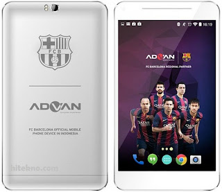 Cara hard reset advan T1X plus