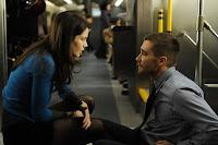 Escena de la película Código Fuente con Jake Gyllenhaal