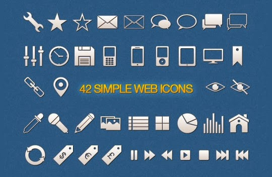 40 High Quality And Free Minimalistic Icon Sets