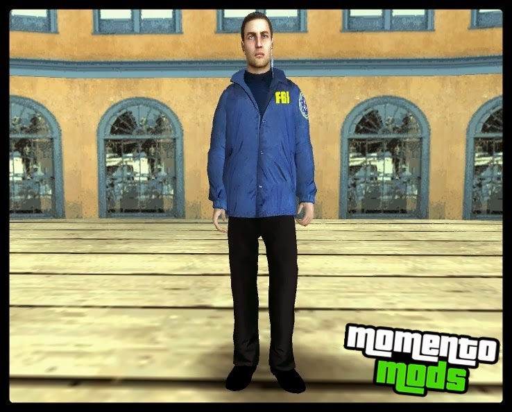 GTA SA - Skin Do Policial FBI HD