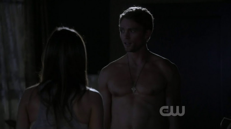 Wilson Bethel Shirtless in Hart of Dixie s1e06