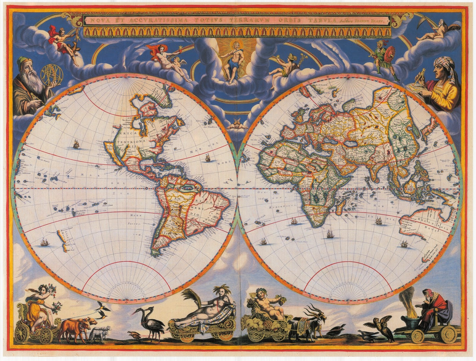 Ancient world maps world map 17th century world map 17th century gumiabroncs Choice Image