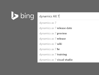 Top 24 Dynamics AX 7 search suggestions with comments