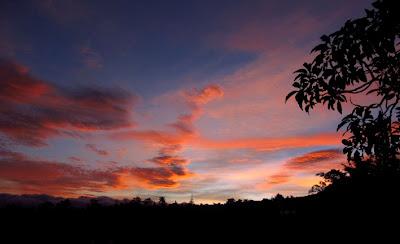 Sunrise at home, June 2011