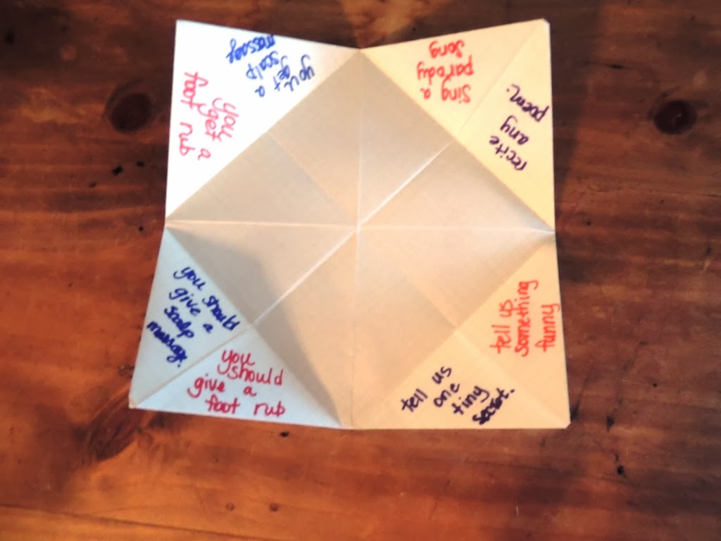 How Do You Make The Origami Fortune Teller