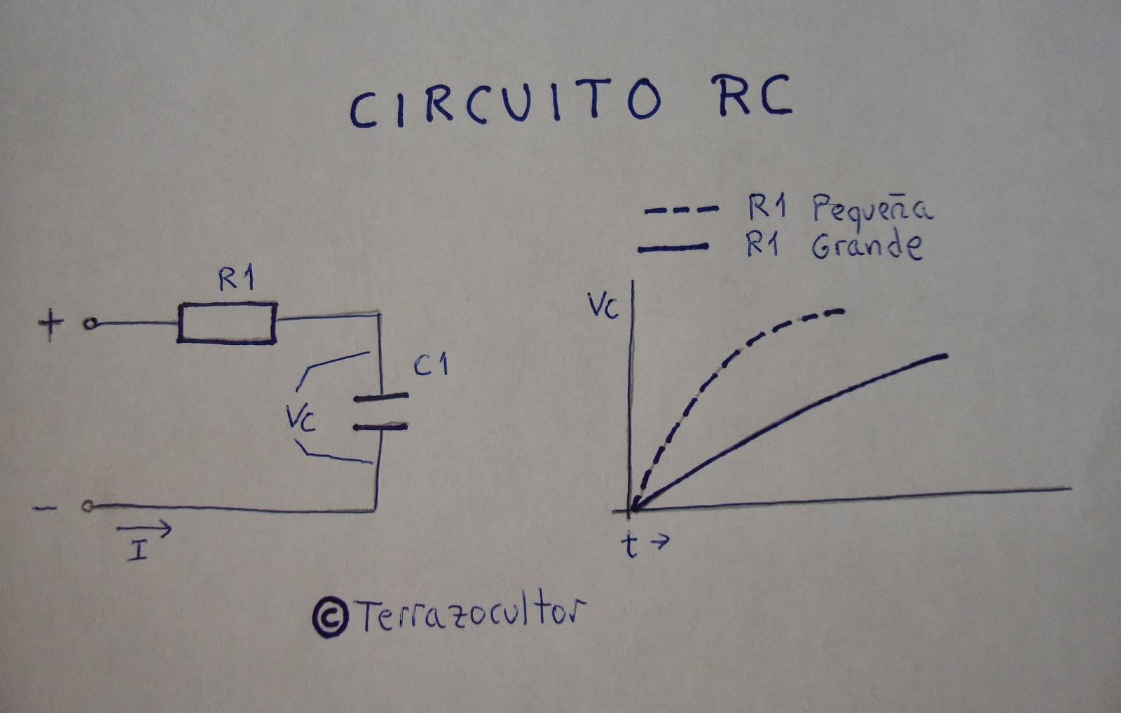 Circuito Rc : Electrónica básica cap 04. condensadores corriente continua y