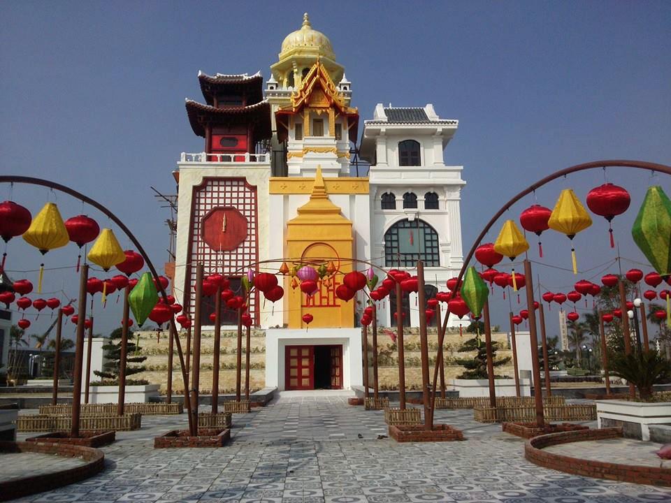 Ngôi nhà mang phong cách của 9 nước châu á