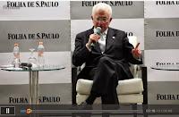 Filósofo Mangabeira Unger em sabatina ao Folha de S. Paulo em 06-11-2014