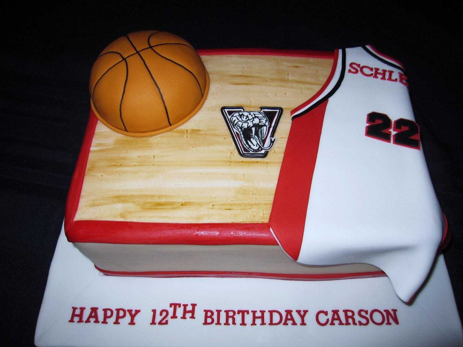 Birthday Cake For Basketball ~ Cakesavvy basketball birthday