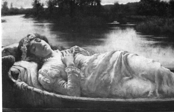 breakspeare lady shalott