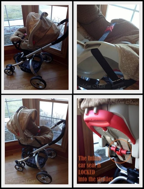 JJ Cole Broadway Stroller as a travel system