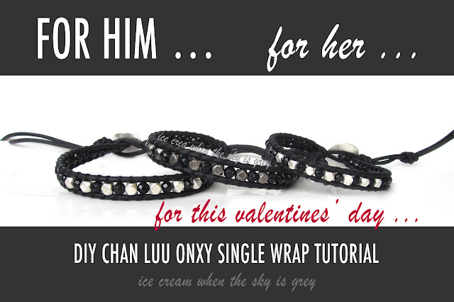 DIY Gift: Valentines' Chan Luu Bracelet For Men & Women