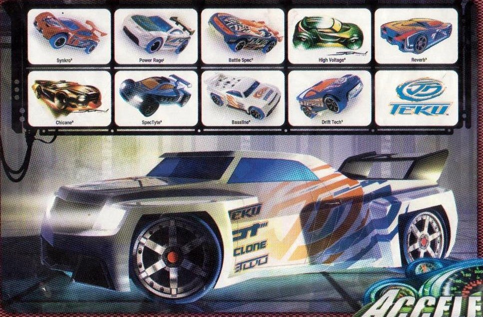 Hot Wheels Acceleracers - TEKU