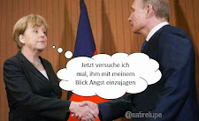 Merkel schüchtert Putin ein