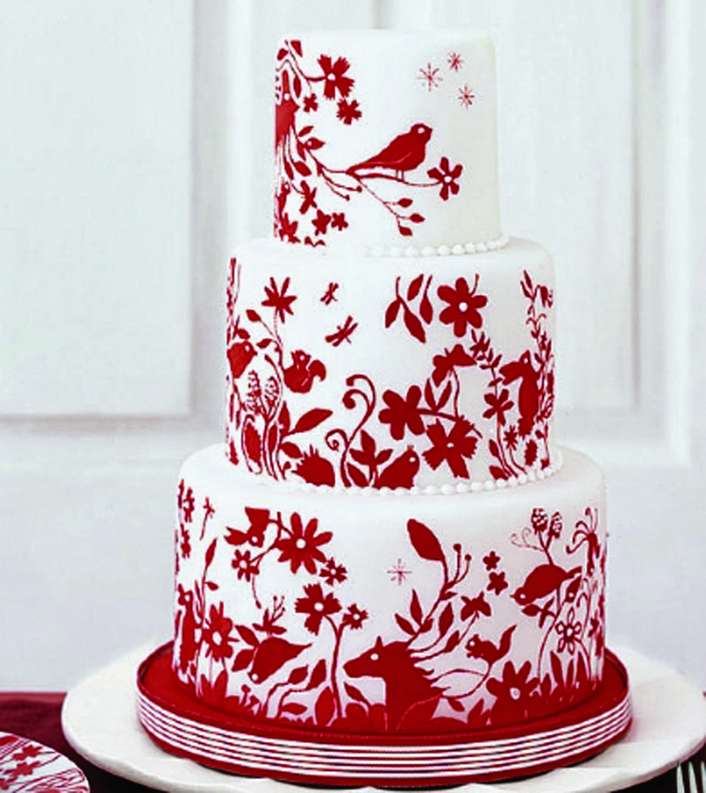 Red Wedding Theme | Wedding Stuff Ideas