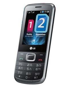 LG Dual SIM Mobile LG S365