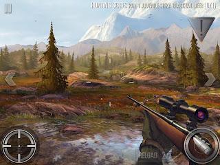 Merupakan game berburu dengan sudut pandang orang pertama atau First person shooter Unduh Game Android Gratis Deer Hunter 2016 apk