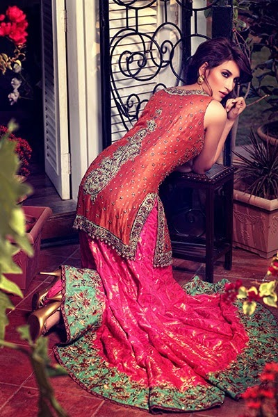 Latest Bridal Dresses Collection by Umsha by Uzma
