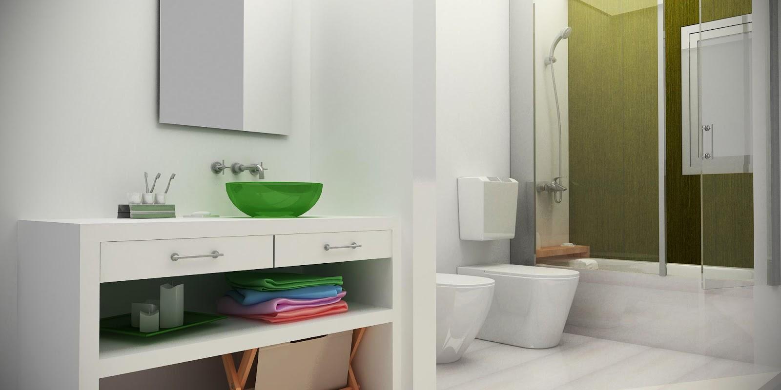 Baños Antebaño Fotos:MParq: 3d interiores – baños