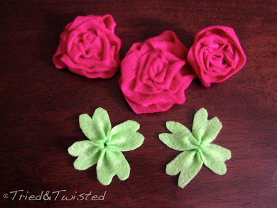 DIY St Patty's Day Four-Leaf Clover with Tried & Twisted blogspot