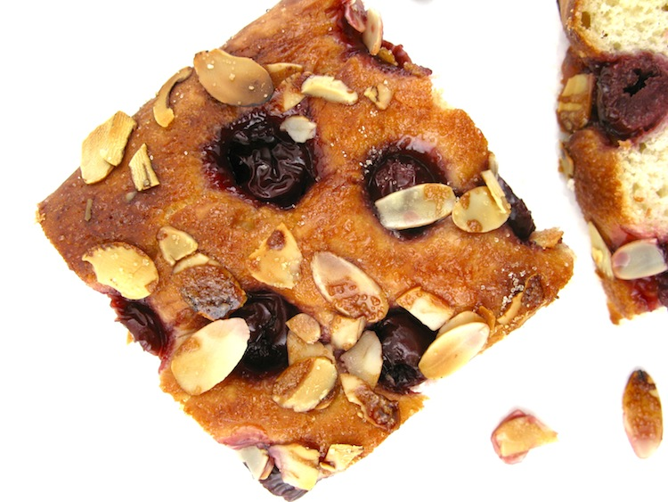 Cherry-Almond Focaccia Recipe — Dishmaps