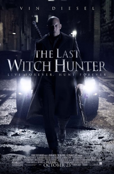 Poster of The Last Witch Hunter 2015 480p English HDRip